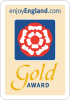 Gold award for exceptional standard.